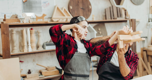 Childrens Woodwork Courses